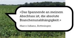 Bild zum Weblog Marco Iuliano: Vom Bachelor of Science...